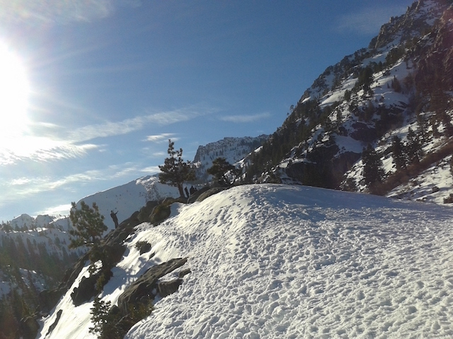 a snowy slope 3